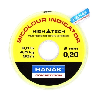 HANÁK Bicolour Indicator Line 30m Yellow/Black
