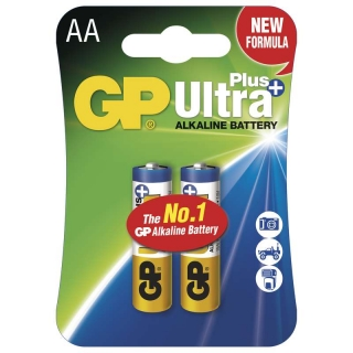 GP Ultra Plus LR6 (AA baterie) 2ks v blistru