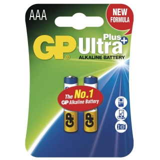 GP Ultra Plus LR6 (AAA baterie) 2ks v blistru