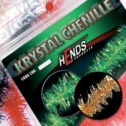 Hends Krystal Chenille Red/Brown