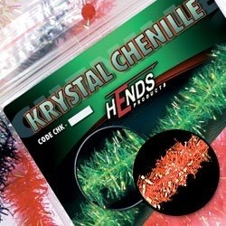 Hends Krystal Chenille Hot Orange Fluo