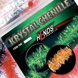 Hends Krystal Chenille Fluo Orange