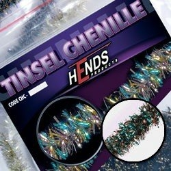 Hends Tinsel Chenille Silver/Brass