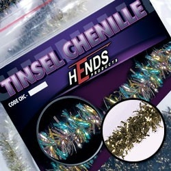 Hends Tinsel Chenille Gold/Black