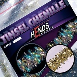 Hends Tinsel Chenille Gold/Pearl