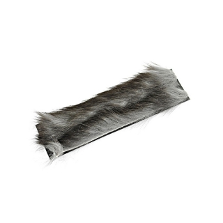 Zonker Strips Rabbit 2mm Grey