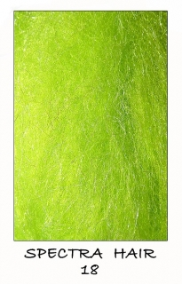 Spectra hair Fluo Green