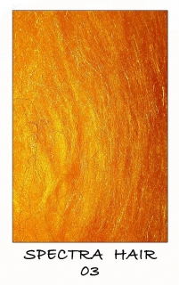 Spectra hair Yellow Orange